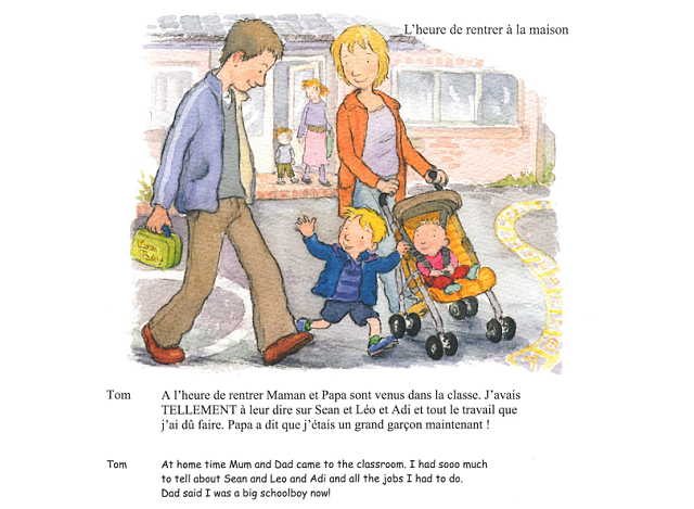 Tom and Sofia Start School in French amp English : tomandsofiafrench5 from shop.oznoz.com size 640 x 469 png 343kB